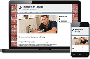 handyman website example